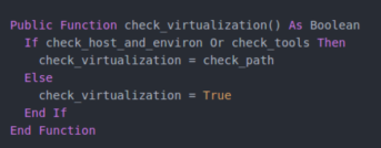 Check Virtualization