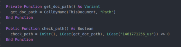 get doc path